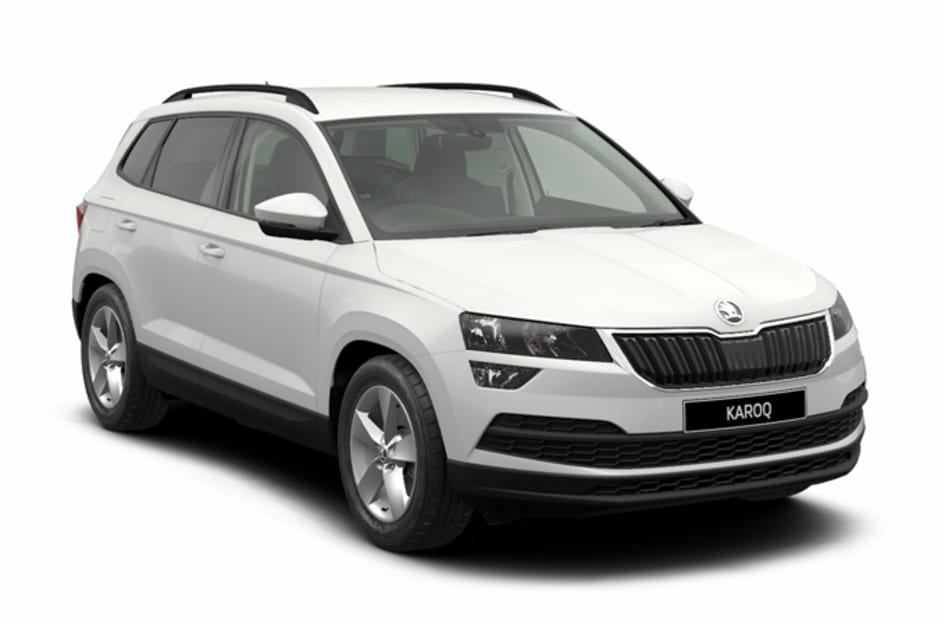 skoda karoq 1 6 tdi scr executive noleggio a lungo termine auto. Black Bedroom Furniture Sets. Home Design Ideas